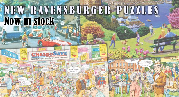 New Ravensburger 2016 Puzzles just arrived!