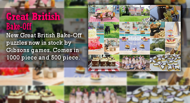 Great British Bake Off Puzzle Just Arrived