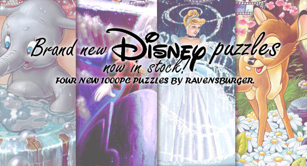 Brand New Disney Puzzles Have Just Arrived