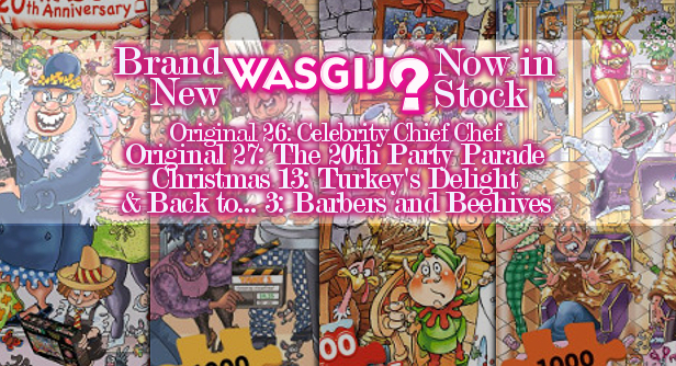 Jigsaw News Flash Four Brand New Wasgijs Just Arrived