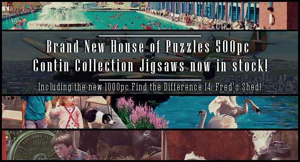 New House of Puzzles 500pc Puzzles now in stock!