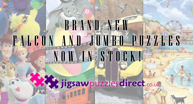 New 2019 Falcon and Jumbo Puzzles in Stock