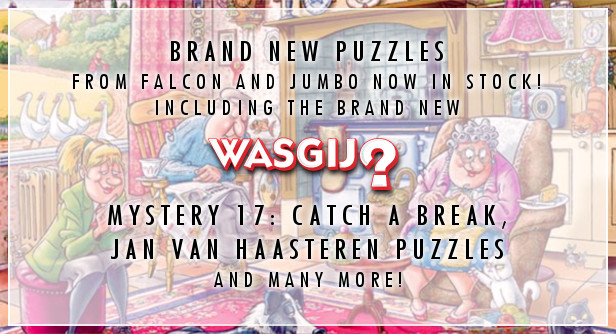 Brand New Wasgij Has Arrived With New Falcon/Jumbo Puzzles!