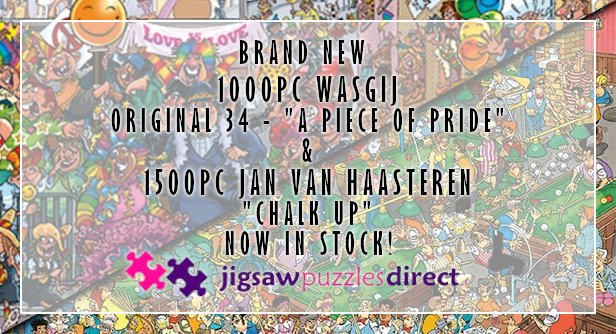 New Wasgij and JvH Now in Stock