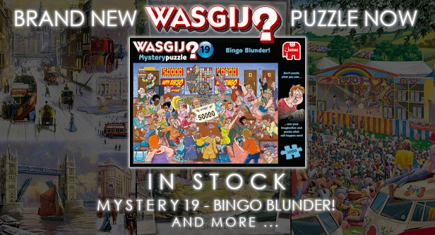 Brand New Wasgij Mystery 19 Now in Stock
