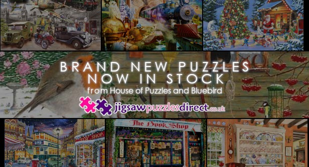 New House of Puzzles and Bluebird now in stock!