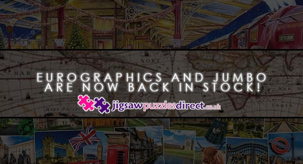 Eurographics and Jumbo are now back in stock!