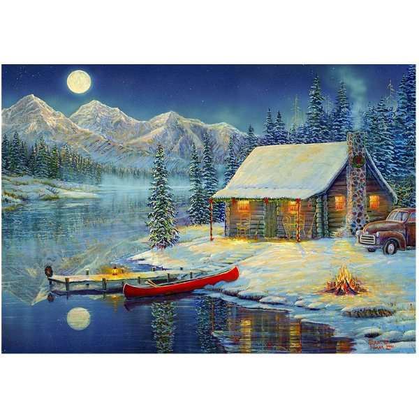 A Cozy Christmas jigsaw puzzle