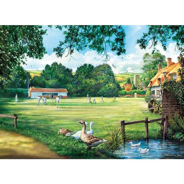 A Day of Cricket - 1000pc jigsaw puzzle
