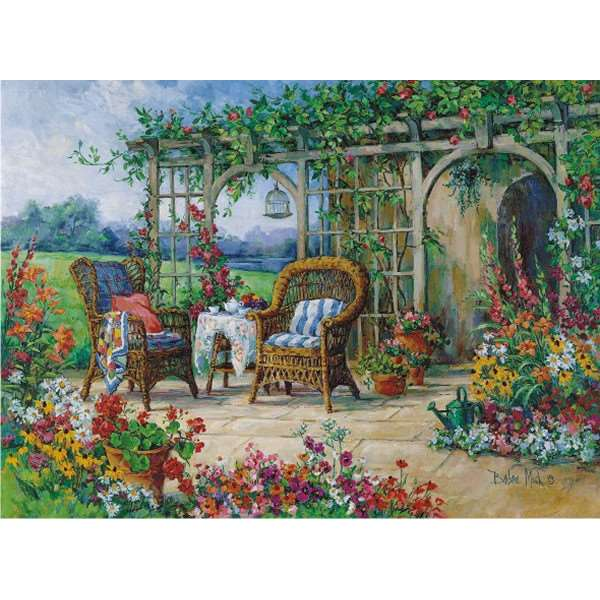 Sunny Morning - 1000pc jigsaw puzzle