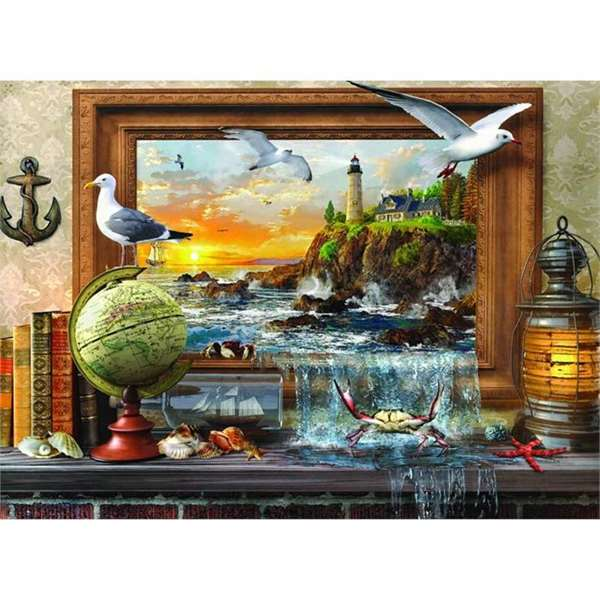 Marine To Life - 1000pc jigsaw puzzle