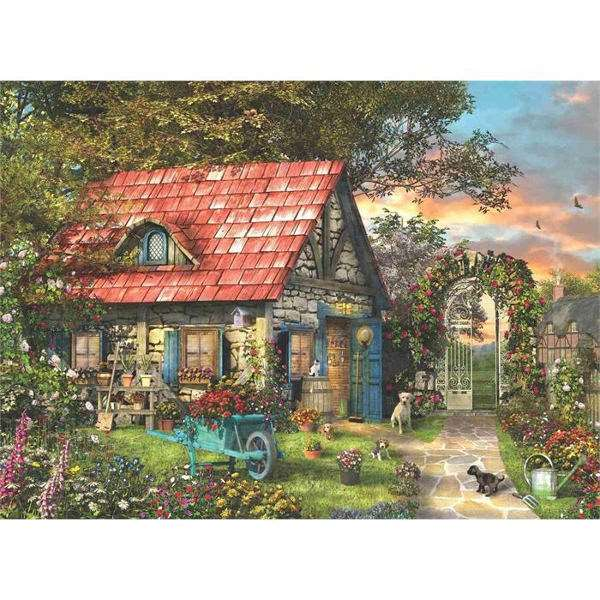 Country Shed - 1000pc jigsaw puzzle
