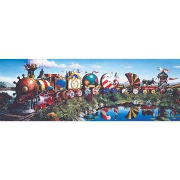 Story Train - 1000pc jigsaw puzzle