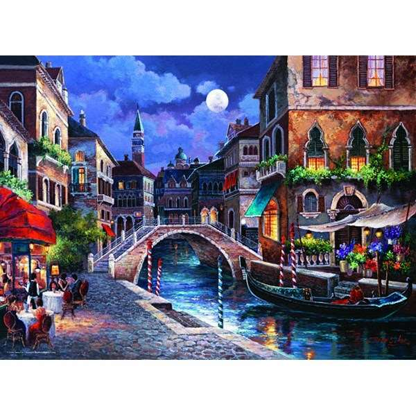 The Streets Of Venice - 1000pc jigsaw puzzle