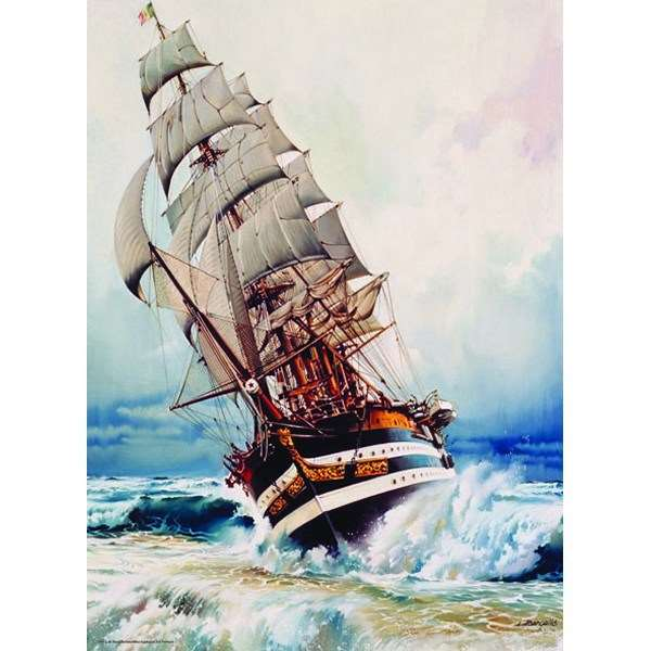 Black Pearl - 1000pc jigsaw puzzle