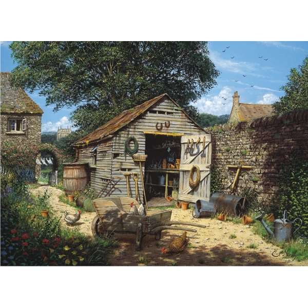 Potting Shed - 1000pc jigsaw puzzle