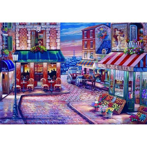 Cafe Rendezvous - 500pc jigsaw puzzle