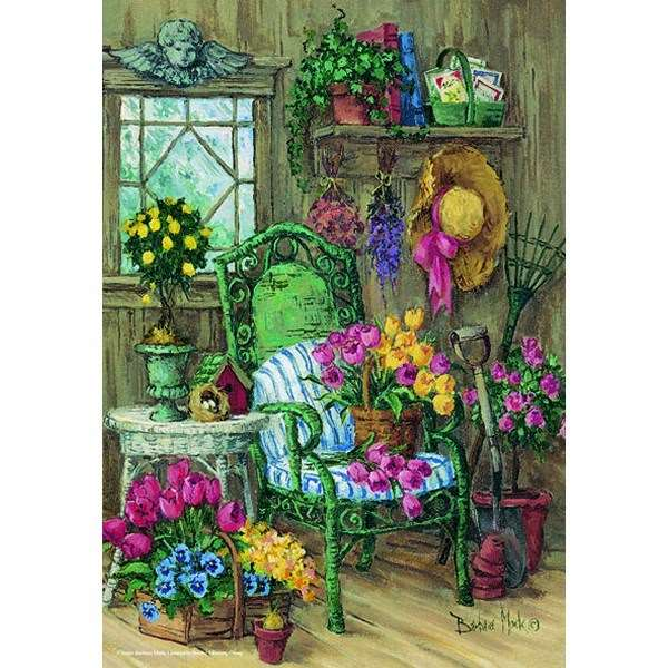 Cape Cod Shed - 500pc jigsaw puzzle