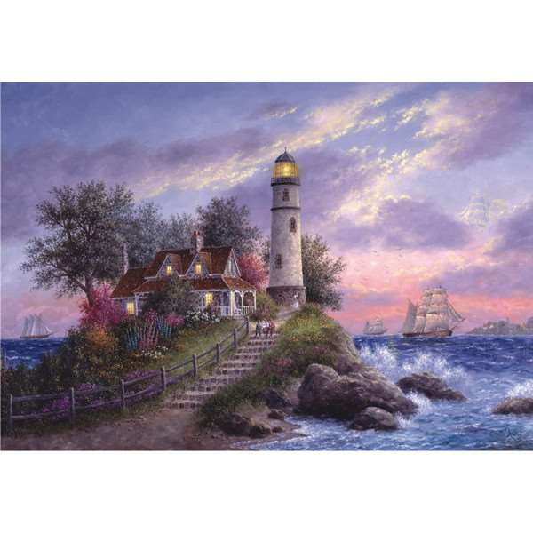 Captain''s Cove - 500pc jigsaw puzzle