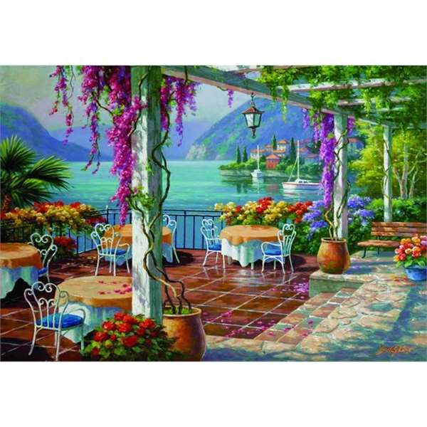 Wisteria Terrace - 500pc jigsaw puzzle