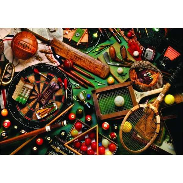 Classics Sports Gear - 500pc jigsaw puzzle