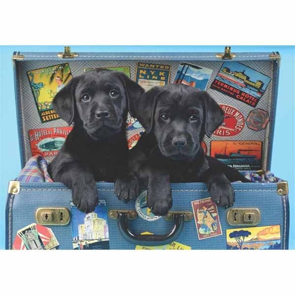 Travelling Labs - 500pc jigsaw puzzle