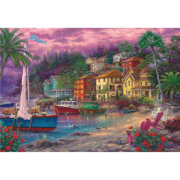 On Golden Shores - 2000pc jigsaw puzzle