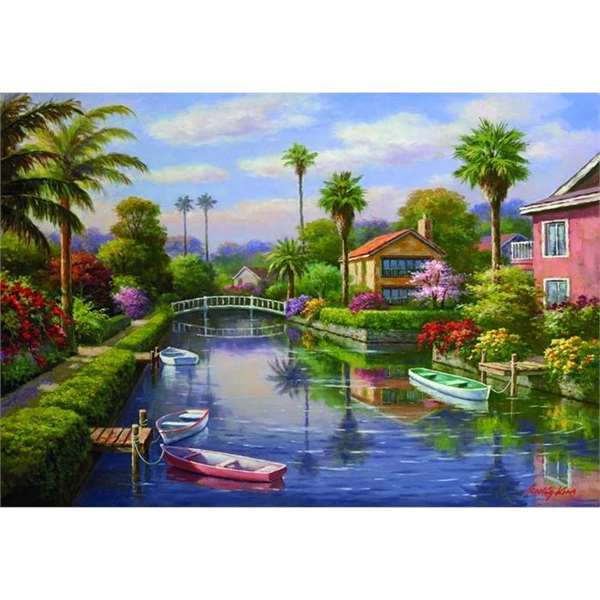 Private Docks - 2000pc jigsaw puzzle