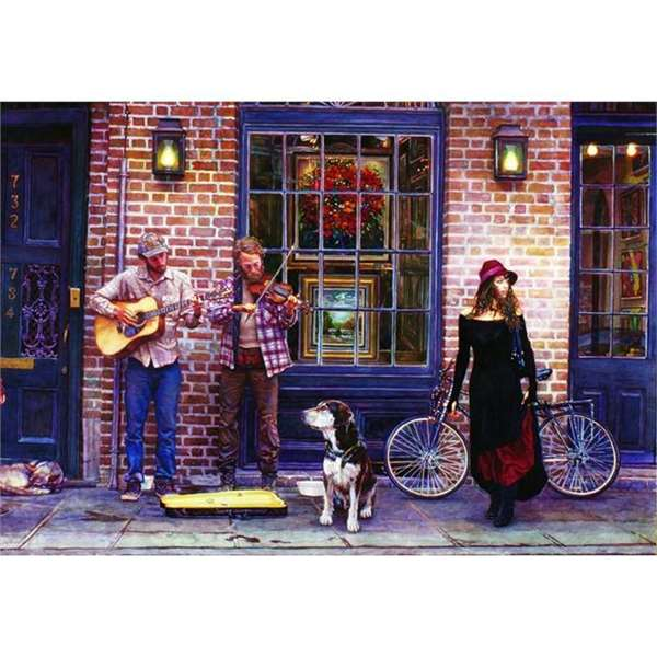 The Sights and Sounds of New Orleans - 2000pc jigsaw puzzle