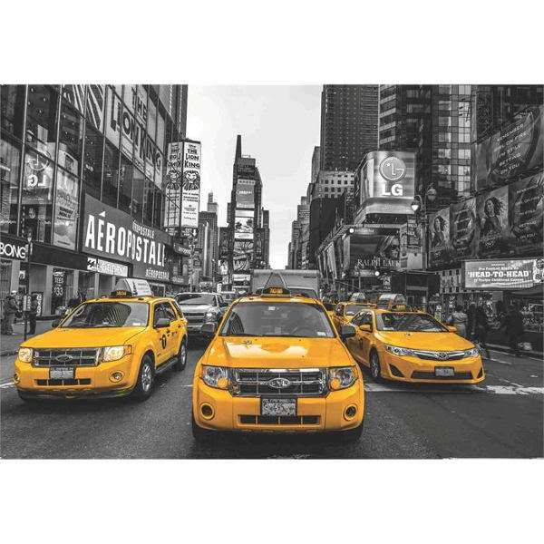New York Taxi - 2000pc jigsaw puzzle