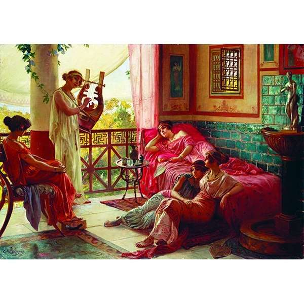 The Lyre Player - 1500pc jigsaw puzzle
