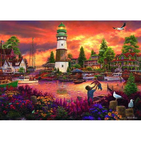 Love Lifted Me - 1500pc jigsaw puzzle