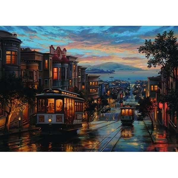 Cable Car Heaven - 1500pc jigsaw puzzle