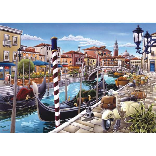 Venetian Canal - 1500pc jigsaw puzzle