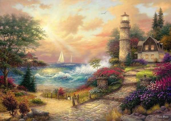 Seaside Dreams - 1500pc jigsaw puzzle