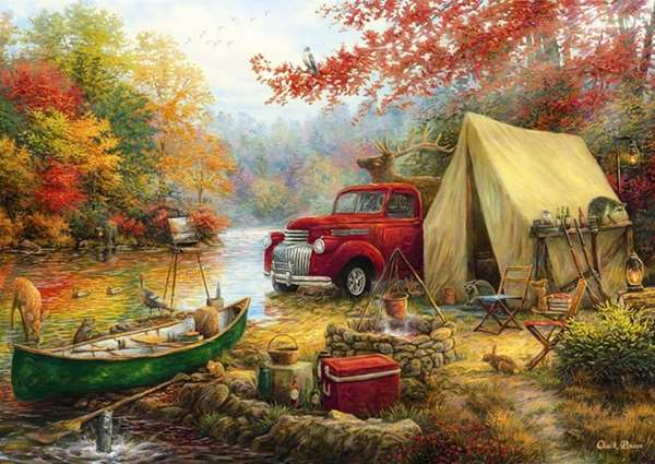 Share the Outdoors - 1500pc jigsaw puzzle