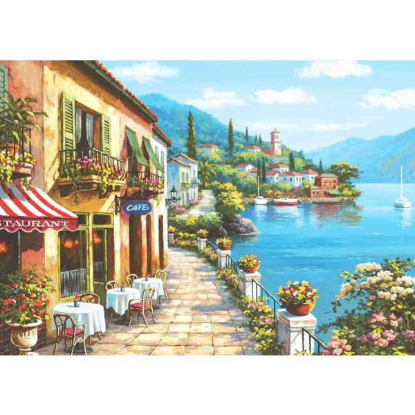 Overlook Cafe - 3000pc jigsaw puzzle
