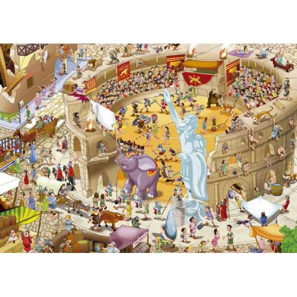 Ancient Rome - 1000pc jigsaw puzzle
