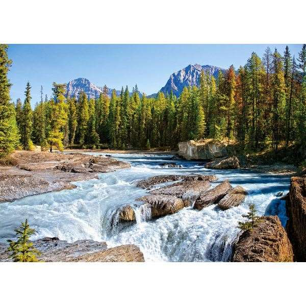 Athabasca River, Jasper National Park - Canada - 1500pc jigsaw puzzle