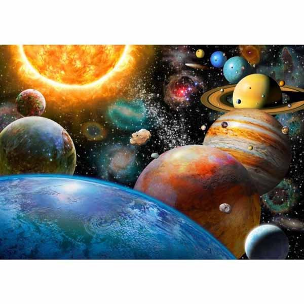 The Planets and their Moons - 500pc jigsaw puzzle