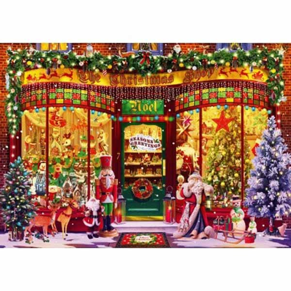 Festive Shop - 1000pc jigsaw puzzle
