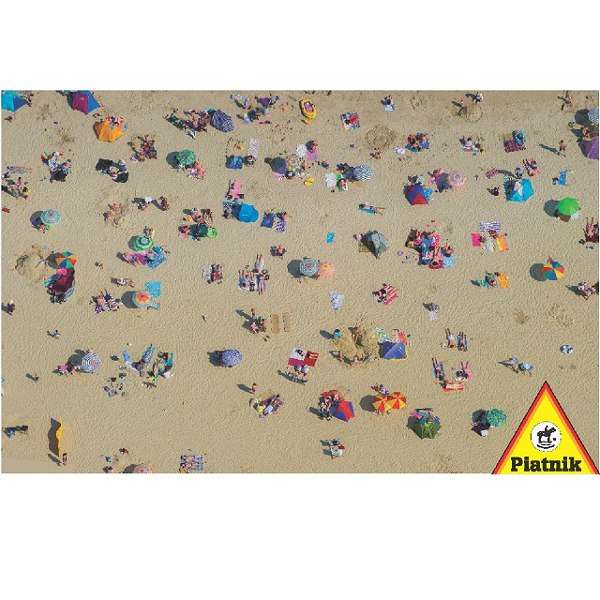 Beach from Above jigsaw puzzle