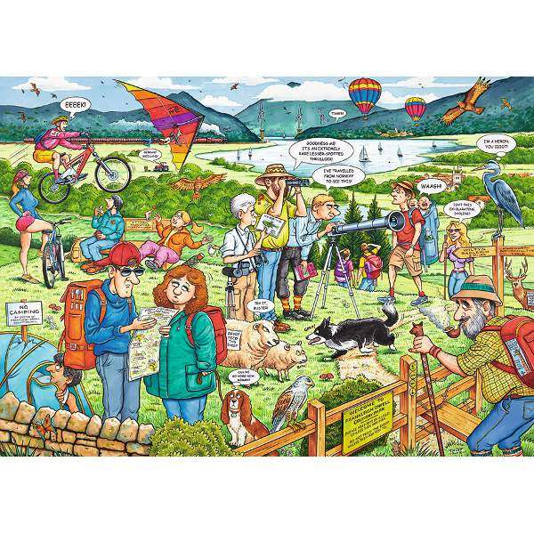 Best of British - The Country Park - 1000pc jigsaw puzzle