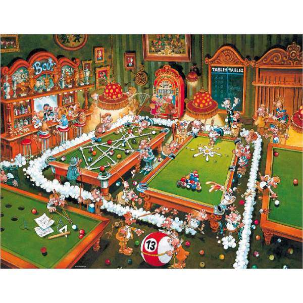 Billard - 1000pc jigsaw puzzle