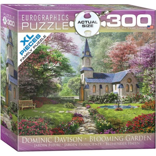 Blooming Garden - 1000pc Spacesaver Box jigsaw puzzle