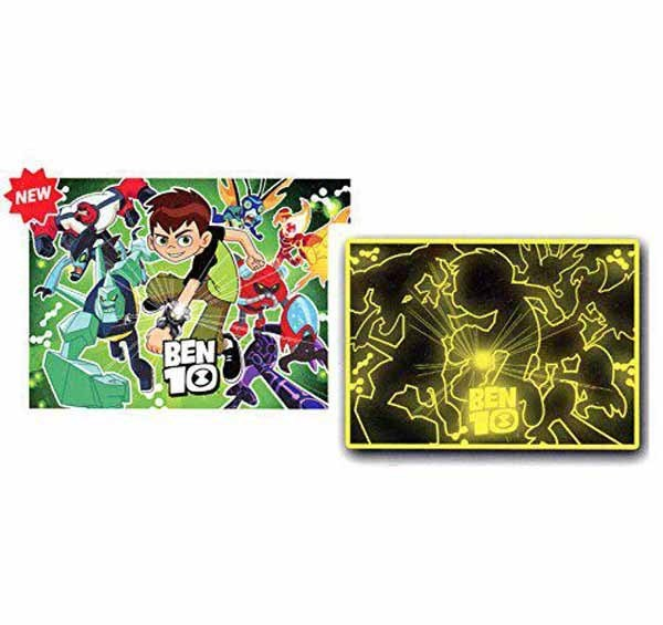 Ben 10 - Fluorescent - 104 Pieces jigsaw puzzle