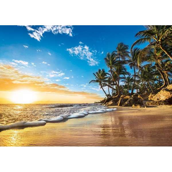 Tropical Sunrise - 1500pc jigsaw puzzle