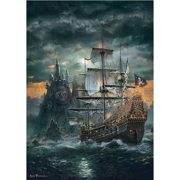 The Pirate Ship - 1500pc jigsaw puzzle