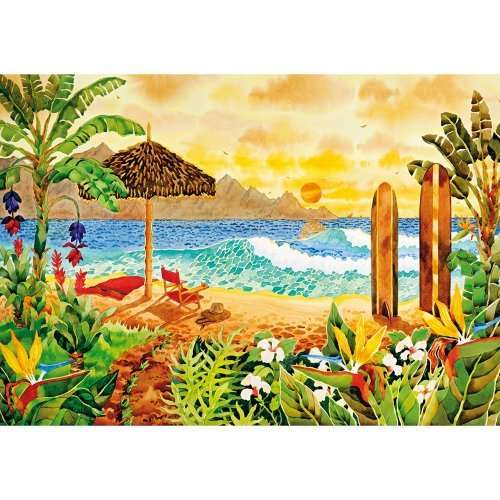 Surfing The Islands jigsaw puzzle