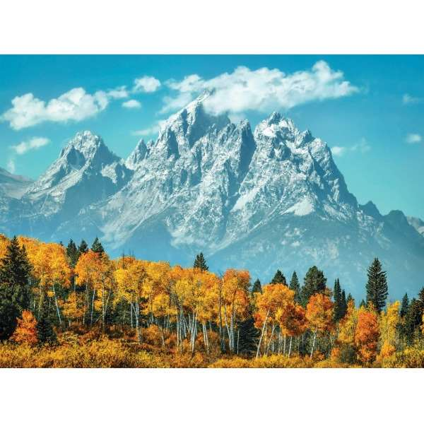 Grand Teton in Fall - 500pc jigsaw puzzle